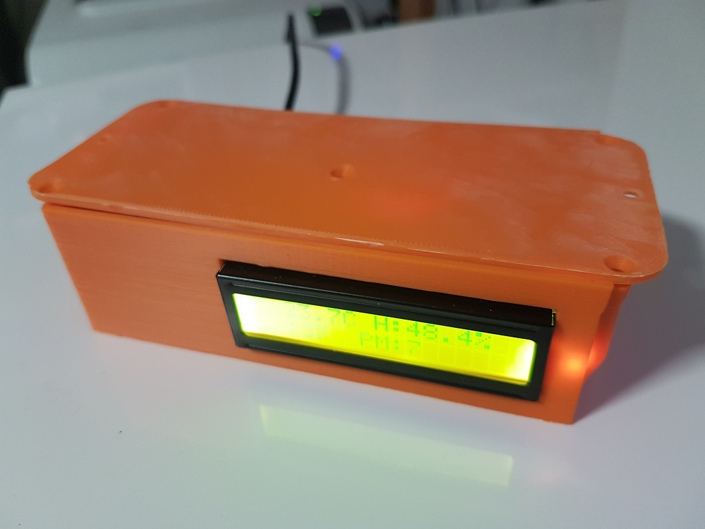 Online Particulate Matter Sensor (Temperature/Humidity as well) by