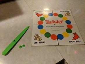 Twister Spinner or Board Game Spinner