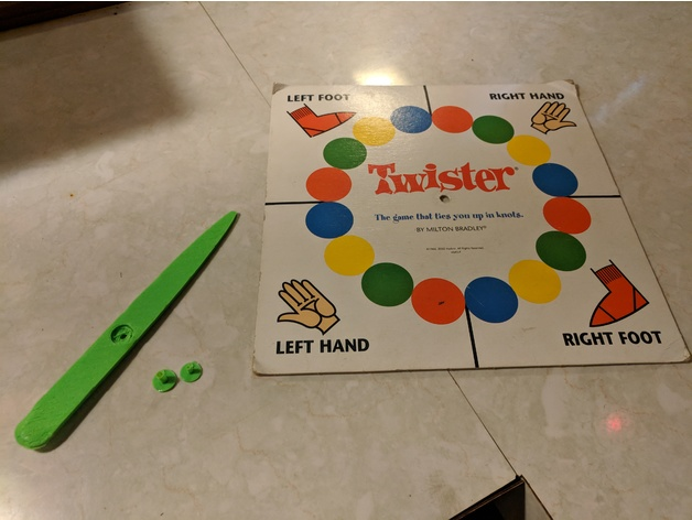 picture relating to Twister Spinner Printable identified as Twister Spinner or Board Activity Spinner via virtualnobody