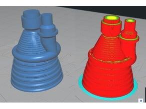 Saturn 5 printable rocket engine (+Inventor source)