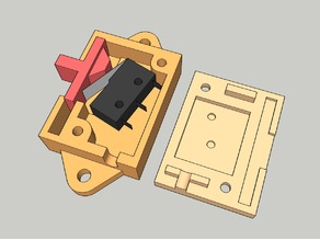 Slide Switch using 20mm Microswitch