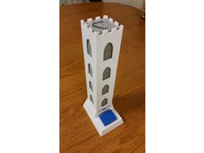 Carcassonne Tile Dispenser Tower