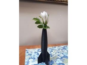 Simplistic Rocket Vase