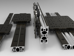OpenBuilds® OPEN RAIL™ Open Source Linear Bearing System