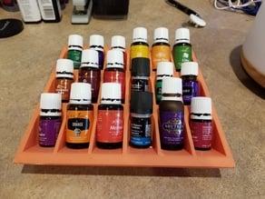 Essential Oils tray organizer display