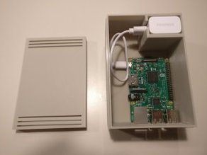 Single Unit Raspberry Pi case