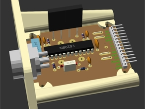 L6208 Stepper Driver PCB and Housing