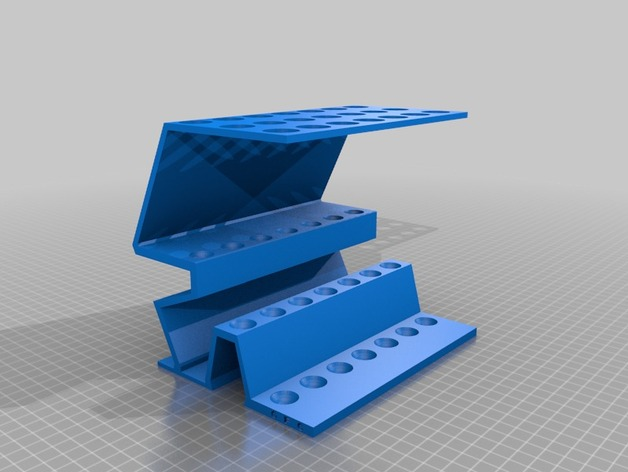 gfc support 21 tubes verres epices by gfc thingiverse. Black Bedroom Furniture Sets. Home Design Ideas