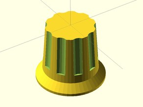 Parametric turning knob
