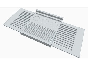 Concept Bath tray - Large print 300x300mm