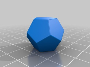 Platonic Polyhedra 1: Dodecahedron & Parts Thereof