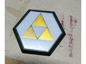Zelda Warp Pad Coaster