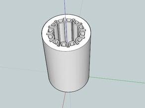 Printed LM8UU rod bearing