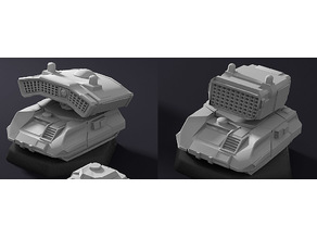 Battletech Missile Carrier