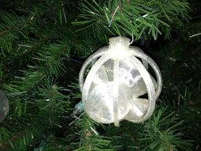 Caged Diamonds ornament