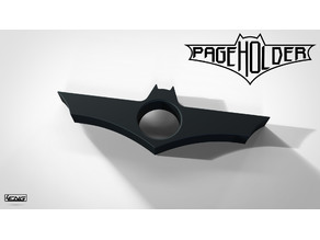 Batman page holder