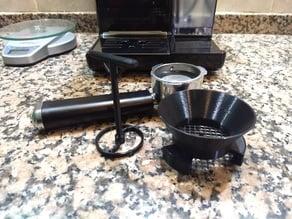 Espresso Coffee Machine funnel