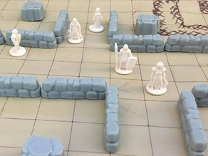 Low Stone Walls (18mm scale)