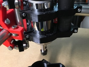 MPCNC (Updated Version) Router Mount and Dustshoe