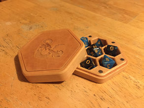 Hexagonal Dice Box