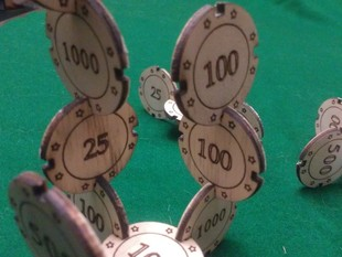 Laser Cut Joinable Poker Chips