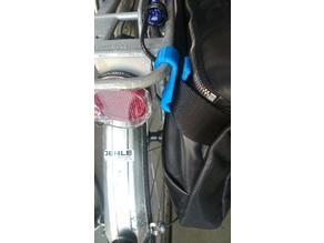 Laptop Bag Bike Holder