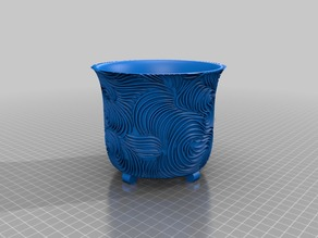 Swirly Planter