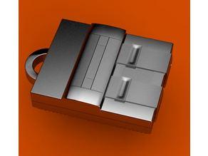 Super Nintendo Keychain