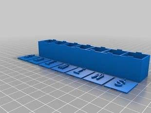 Customizable Pillbox