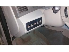 Jeep Grand Cherokee WK Switch Plate / Panel