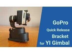 YI Gimbal Qucik Release Bracket