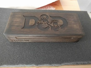 D&D / RPG - Hero, Dice and Pencil Vault / Case