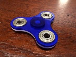 Laser cut fidget spinner