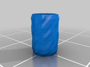 Triangulated cup