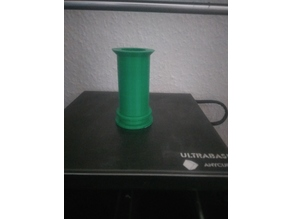 Cylinder Remix for Anycubic I3 Mega Spool Holder - less support needed