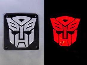 Autobot Transformers LED Nightlight/Lamp