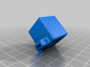 Small Test Whislte done in OpenSCAD