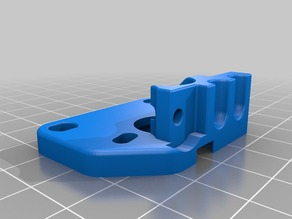 Modified MK8 Extruder base for Flexible Filament