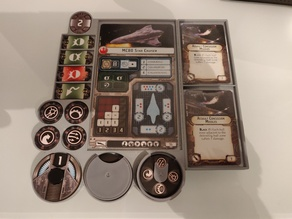 Star Wars Armada Ship Dashboards - connectable
