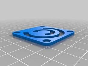 CraftUnique logo 40mm fan cover