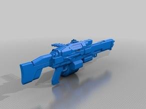Destiny's Horilogium Machine Gun