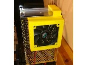 Anet A8 PSU 70mm/80mm/120mm FAN holder/case
