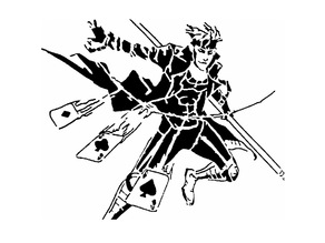 Gambit stencil
