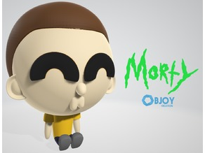 Morty Figure & Keychain - by Objoy Creation