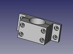 Parametric Pipe Clamp - FreeCAD