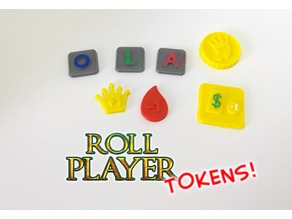Roll Player Upgrade Tokens (Boardgame)