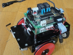 Servo wheel for mobile robots