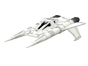 Buck Rogers various Starfighters