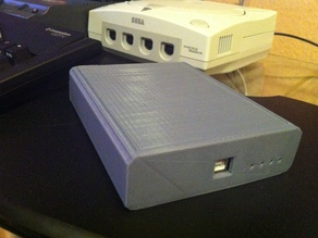 Amiga HxC USB Floppy v2 Emulator Case