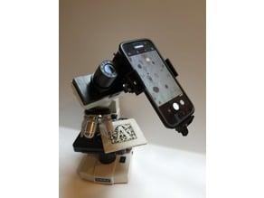 Universal Microscope-Phone Camera Adaptor